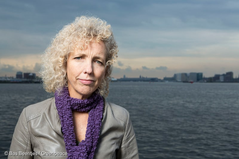 Greenpeace International Executive Director Jennifer Morgan.